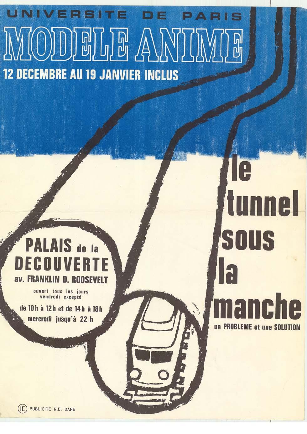 1963 : Le tunnel sous la Manche - un problème et une solution(ouverture du diaporama)