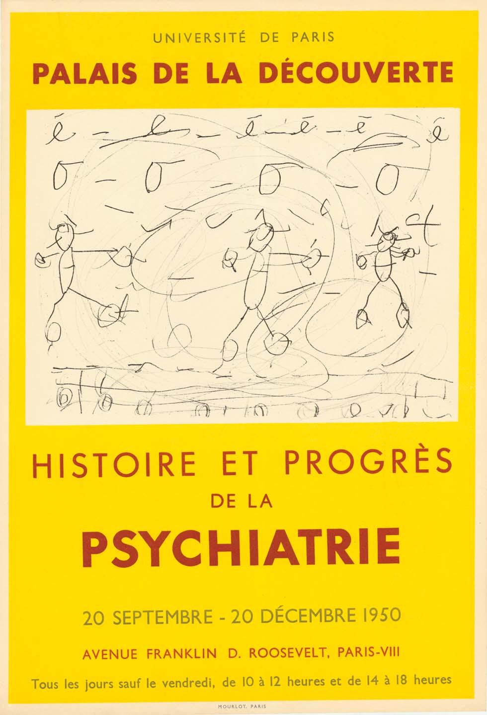 1950 : Histoire et des progrès de la pyschiatrie(ouverture du diaporama)
