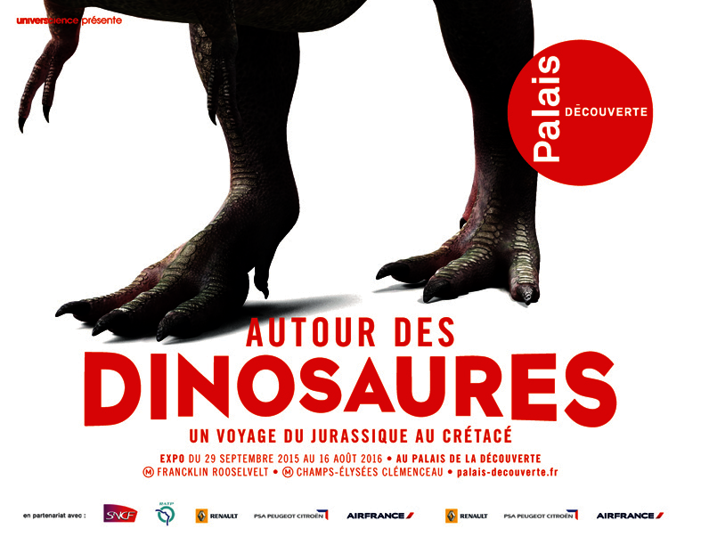 2015 : Autour des dinosaures - Un voyage du Jurassique au Crétacé(ouverture du diaporama)