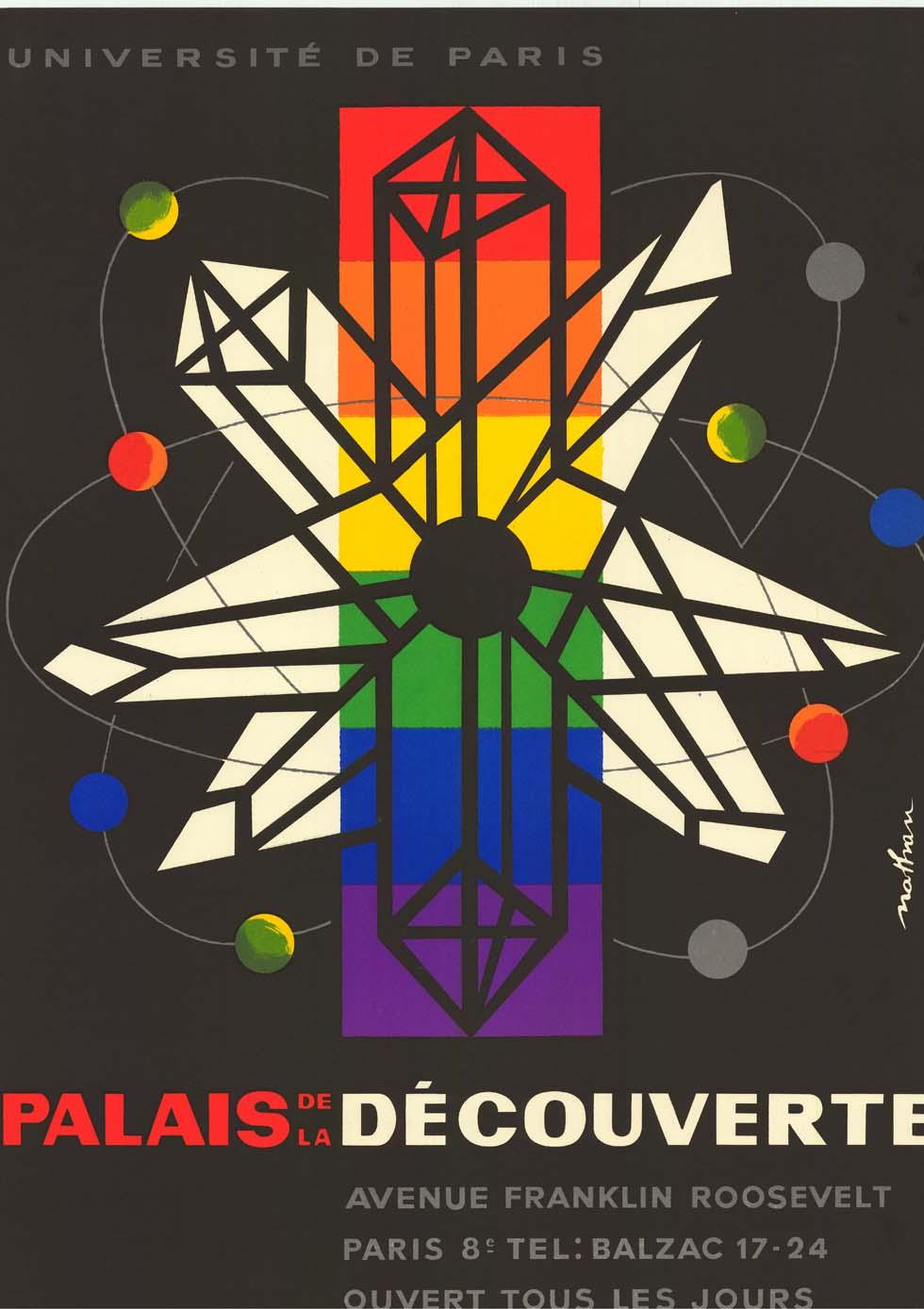 1953 : Affiche du Palais de la découverte(ouverture du diaporama)