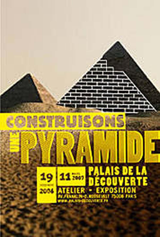 2006 : Construisons une pyramide(ouverture du diaporama)