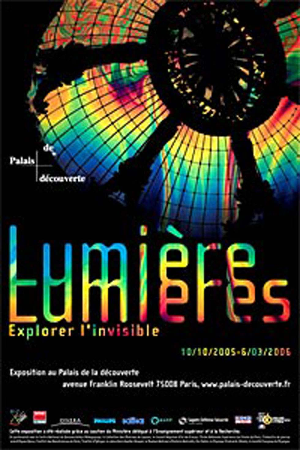 2005 : Lumière Lumières - Explorer l'invisible(ouverture du diaporama)