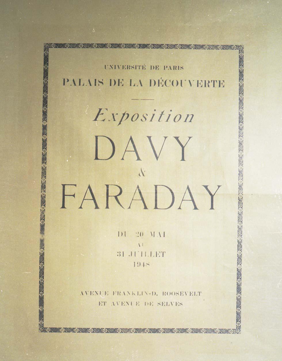 1948 : Davy et Faraday(ouverture du diaporama)