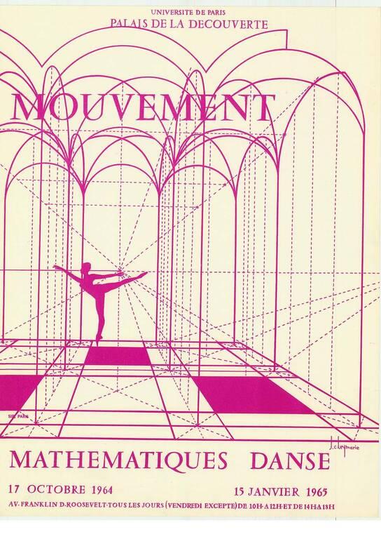 1964 : Mouvement - Mathématiques, danse(ouverture du diaporama)