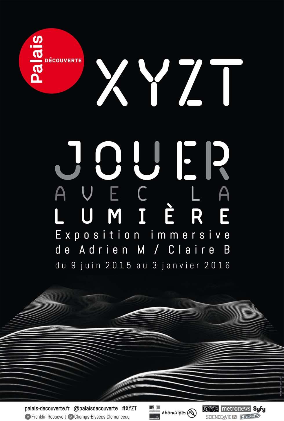 2015 : XYZT(ouverture du diaporama)