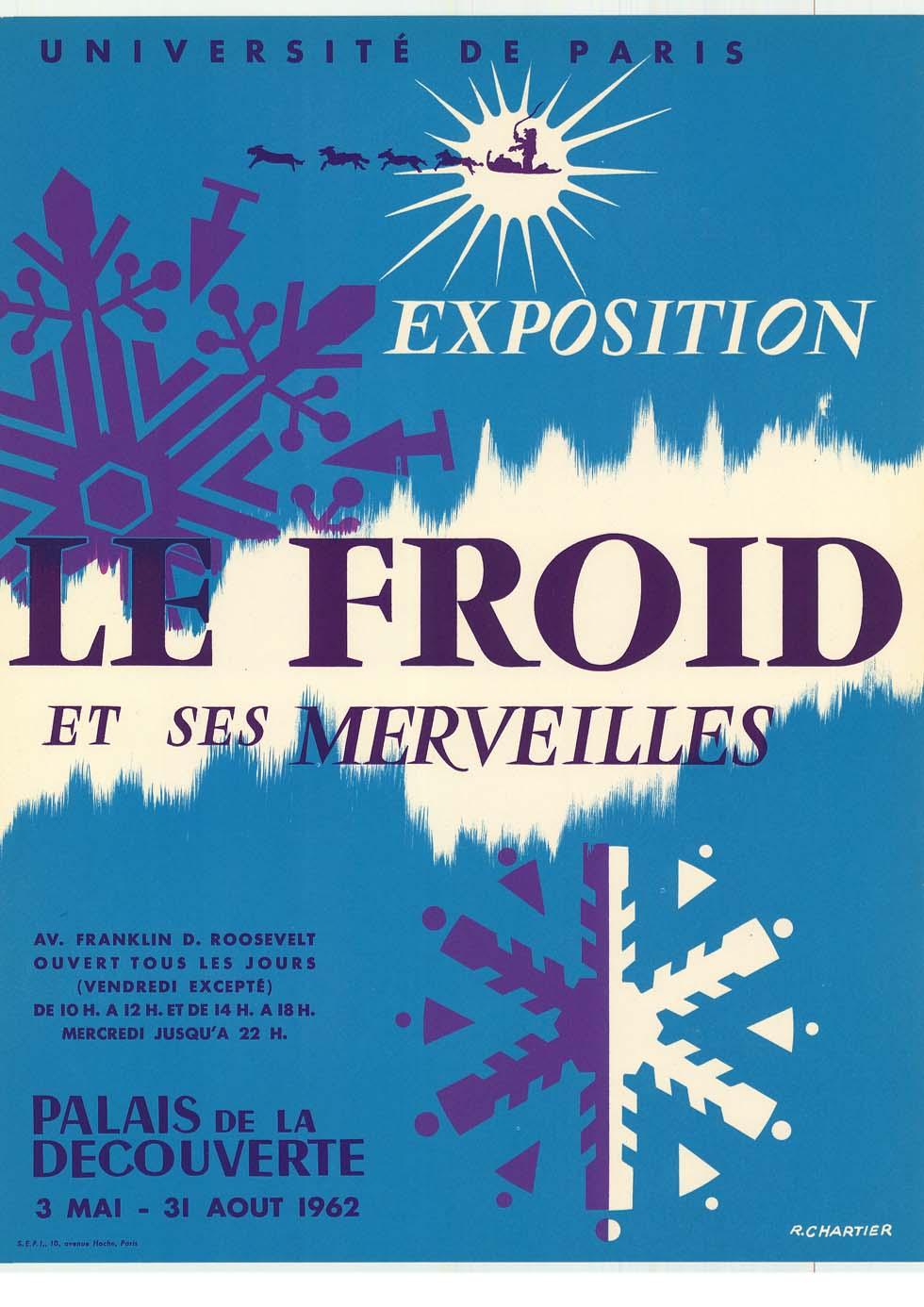 1962 : Le froid et ses merveilles(ouverture du diaporama)