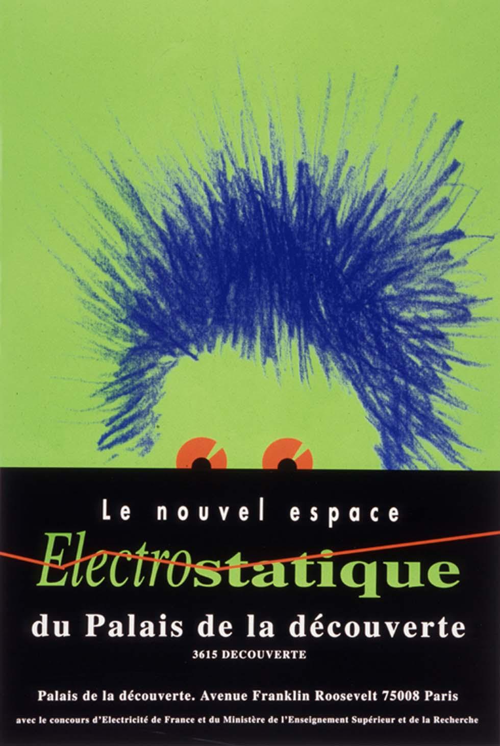 1994: Le nouvel espace Électrostatique du Palais de la découverte(ouverture du diaporama)