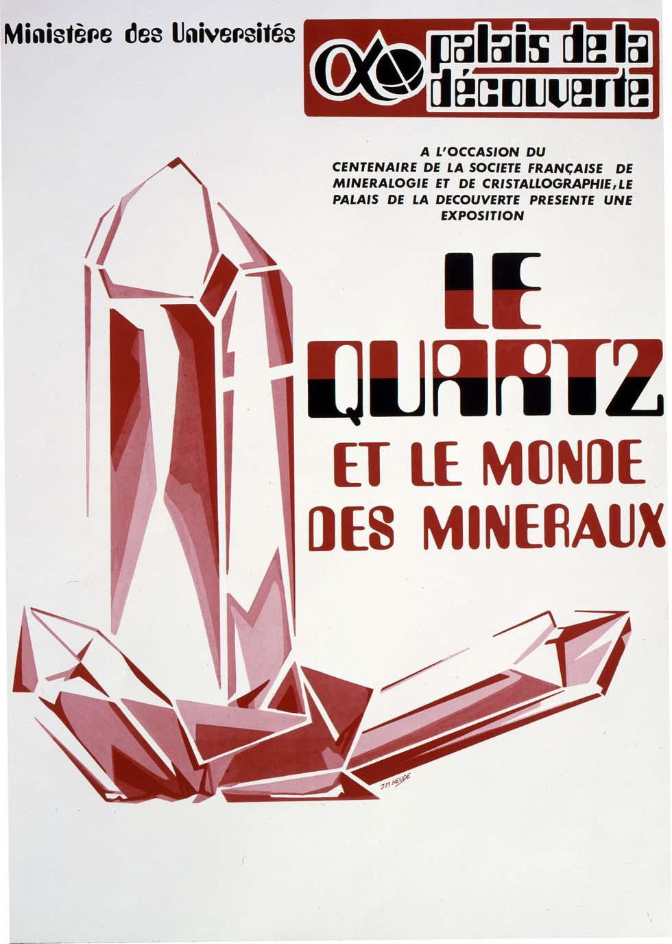 1978 : Le Quartz et le monde des minéraux(ouverture du diaporama)