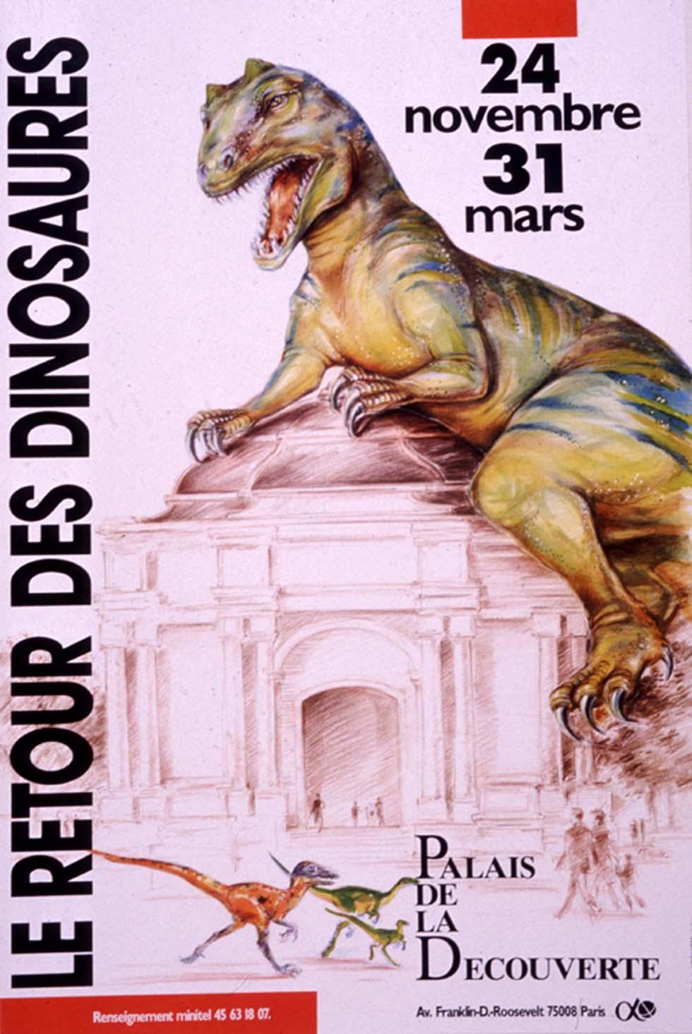 1990 : Le retour des dinosaures(ouverture du diaporama)
