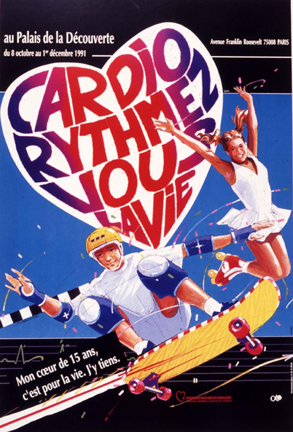 1991 : Cardio-rythmez vous la vie(ouverture du diaporama)