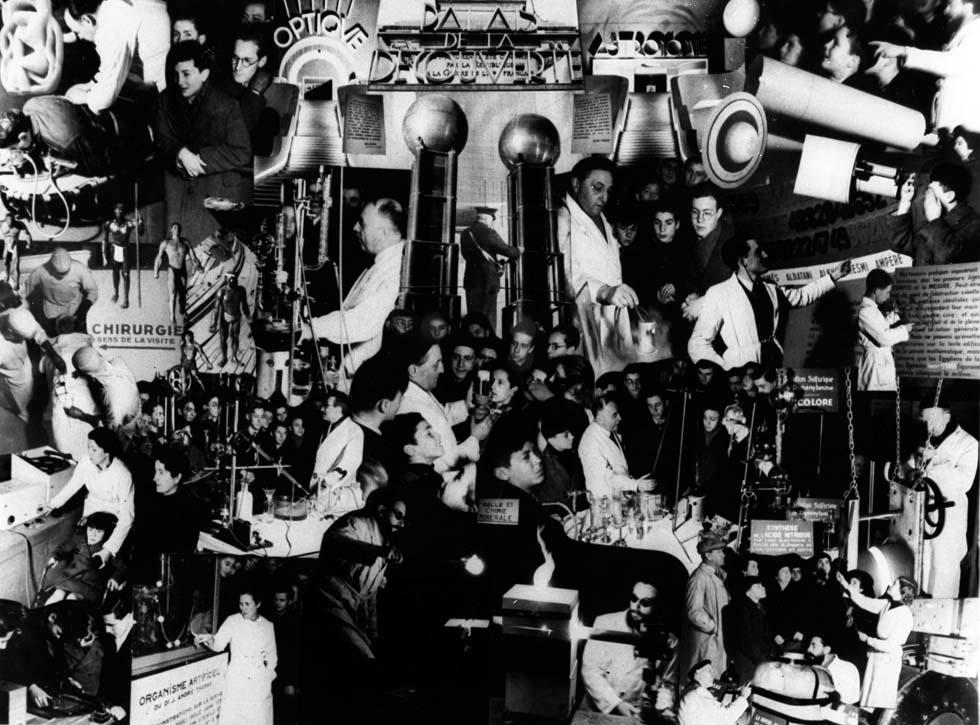 1937 - Affiche publicitaire du Palais de la découverte(ouverture du diaporama)