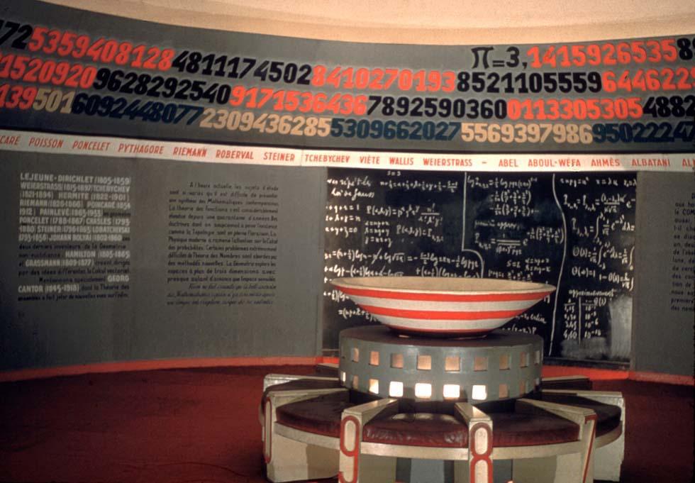 1947 - Vue de la salle pi du Palais de la découverte(ouverture du diaporama)