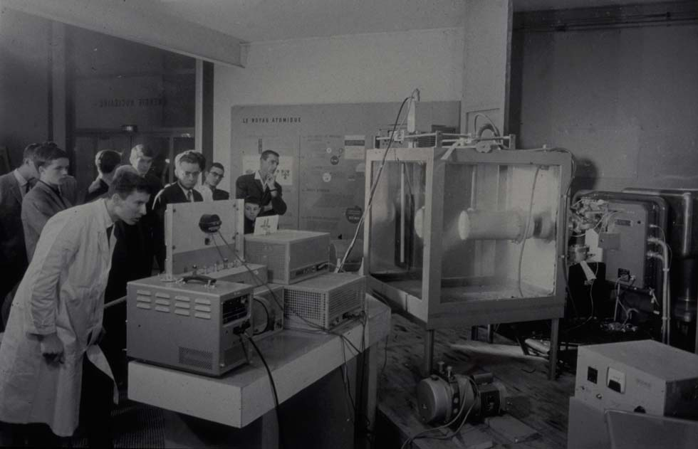1966 - Exposé de physique(ouverture du diaporama)