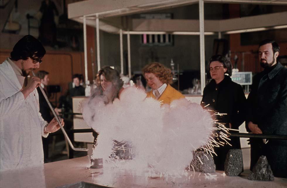 1970 - Exposé de chimie(ouverture du diaporama)