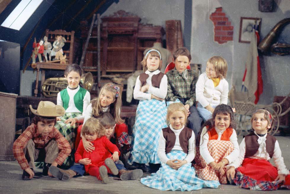 1973 - Tournage d'un film