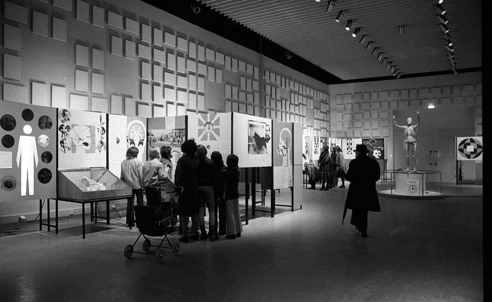 1976 - Vue générale de l'exposition