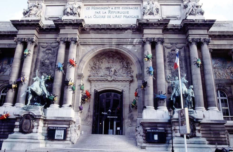 1994 - Façade du Palais de la découverte(ouverture du diaporama)