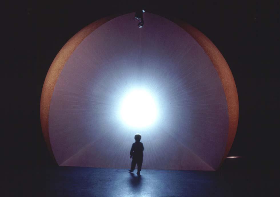 1994 - Maquette du soleil, au Palais de la découverte(ouverture du diaporama)