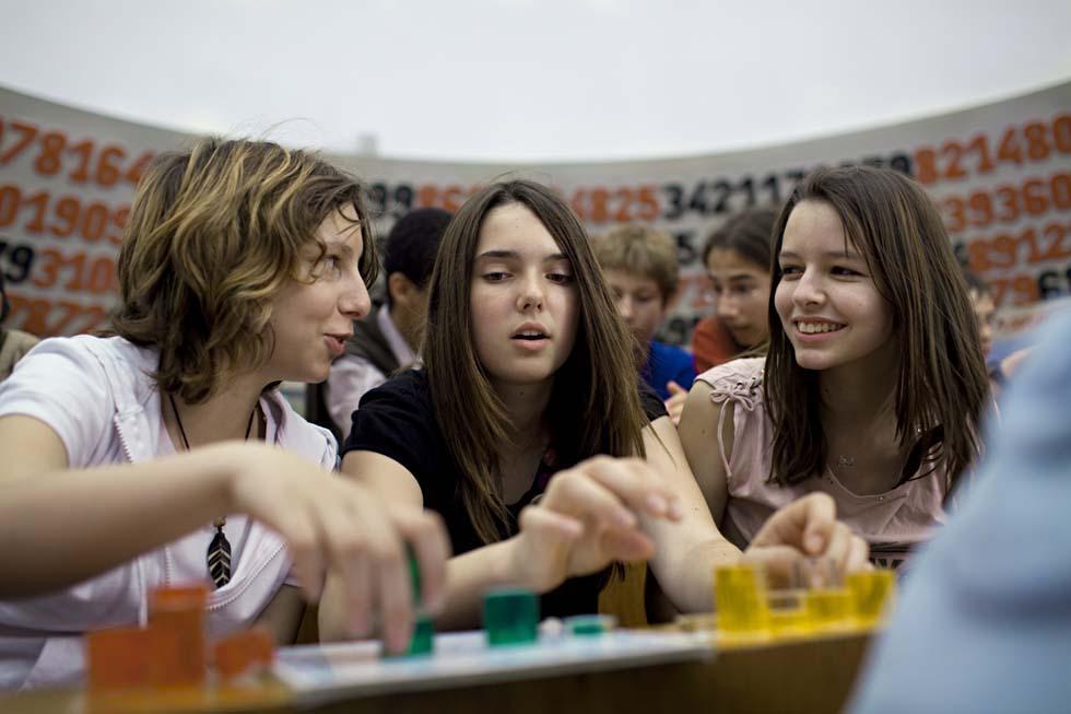 2009 - Atelier de mathématiques(ouverture du diaporama)