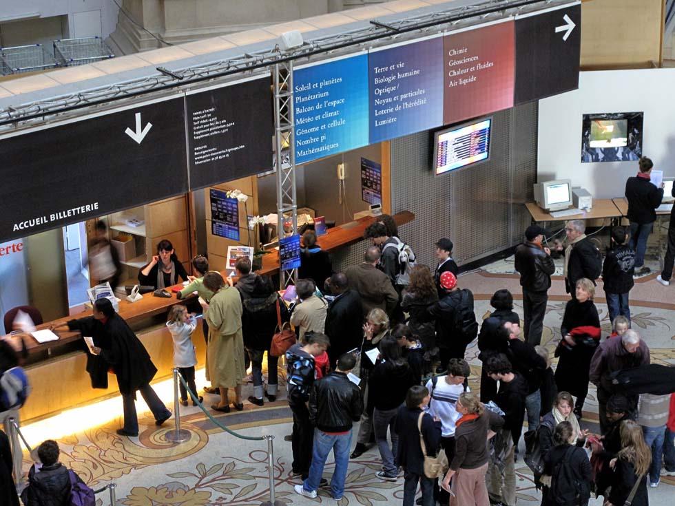 2009 - Billetterie du Palais de la découverte(ouverture du diaporama)
