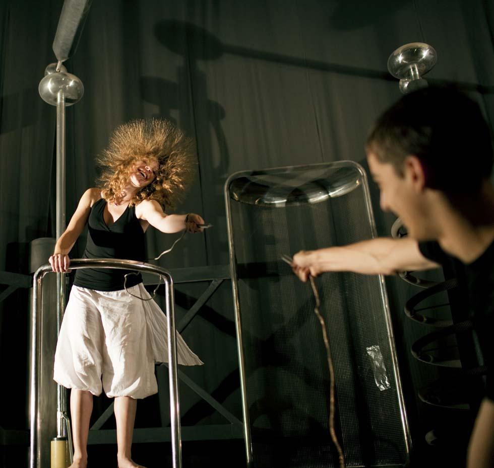 2009 - Exposé de physique(ouverture du diaporama)