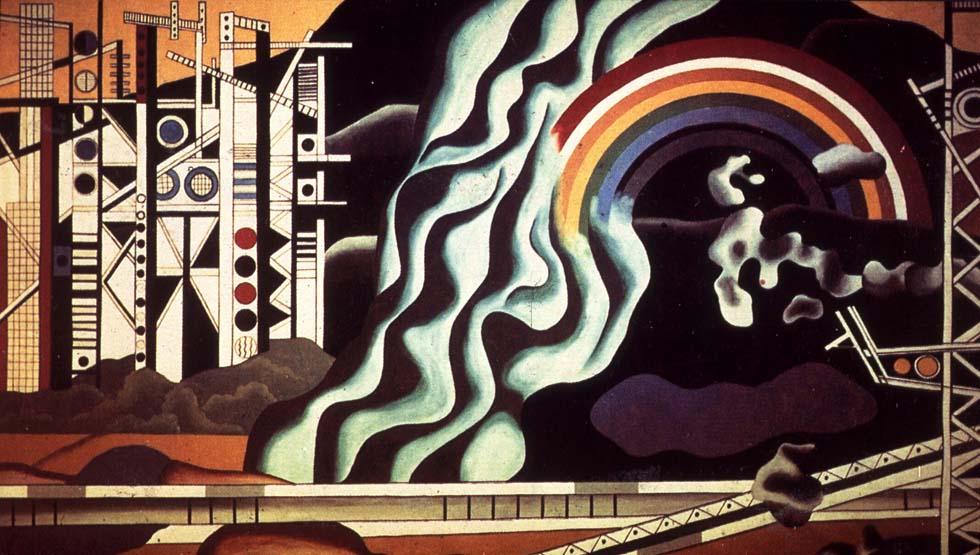 1937 - Fernand Léger, Le transport des forces(ouverture du diaporama)